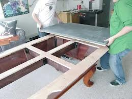 Pool table moves in Dubuque Iowa