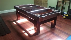 Correctly performing pool table installations, Dubuque Iowa